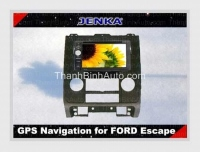 DVD JENKA cho Ford Escape - GPS Navigation