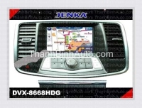 GPS Navigation For NISSAN Teana - JENKA DVX-8668HDG JENKA Model: DVX-8668HDG Sunbird SHARP Technology - Made in Tawan Car Entertainment and GPS Navigation for NISSAN Teana