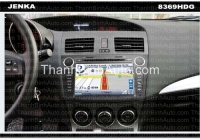 GPS Navigation For MAZDA3 - 2010 - JENKA DVX-8369HDG JENKA Model: DVX-8369HDG Sunbird SHARP Technology - Made in Tawan Car Entertainment and GPS Navigation for MAZDA3 - 2010