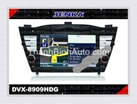 GPS Navigation For HYUNDAI iX35/Tucson - JENKA DVX-8909HDG JENKA Model: DVX-8909HDG Sunbird SHARP Technology - Made in Tawan Car Entertainment and GPS Navigation for HYUNDAI iX35/Tucson