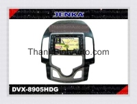 GPS Navigation For HYUNDAI i30 - JENKA DVX-8905HDG JENKA Model: DVX-8905HDG Sunbird SHARP Technology - Made in Tawan Car Entertainment and GPS Navigation for HYUNDAI i30