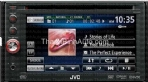 In-Dash DVD/CD/USB Receiver with 6.1-inch WVGA Detachable Touch Panel Monitor Touch Panel Built-In 6.1-inch WVGA Monitor External Mode for iPod/iPhone (listen to audio from iPod/iPhone apps) Two-Way Control for iPod/iPhone (make song selections from iPod/iPhone or receiver) Touch Panel