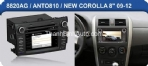 DVD Android cho Corolla Altis