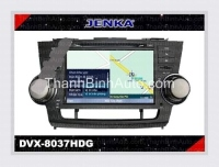 Car DVD For TOYOTA Highlander JENKA DVX-8037 JENKA Model: DVX-8037 Made in Taiwan (chính hãng) Car DVD Video for TOYOTA Highlander