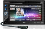 Multilingual Display Bluetooth® Wireless Technology DVD/CD/USB Receiver with 6.1-inch Widescreen Touch Panel Monitor