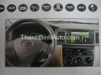 GPS Navigation for TOYOTA Series - JENKA DVX-8736HDG JENKA Model: DVX-8736HDG Sunbird SHARP Technology - Made in Tawan Car Entertainment and GPS Navigation for TOYOTA Series