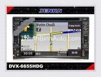 JENKA DVX-6655HD Car Multimedia FULL HD JENKA Model: DVX-6655HD Made in Taiwan (chinh hang) Car Multimedia Special For TOYOTA series