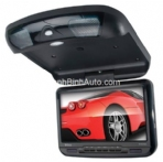 9-Inch Widescreen TFT Flip-Down Monitor/DVD Combo, IR Transmitter (New for 2013)