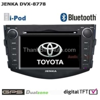 Car DVD for For TOYOTA RAV-4 JENKA DVX-8778HD JENKA Model: DVX-8778HD Made in Taiwan (chinh hang) Car Multimedia Special For Toyota RAV-4