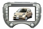 DVD theo xe Nissan March 2012