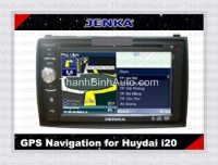 DVD cho Huydai i20 - GPS Navigation for